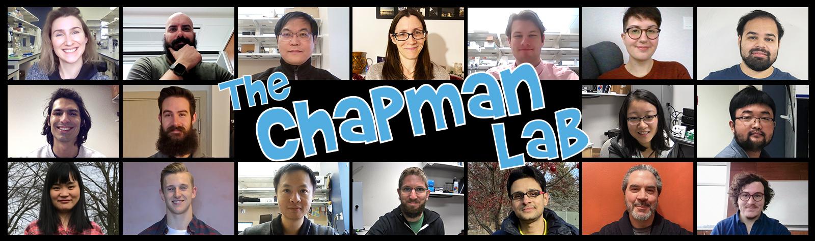 Chapman Lab Group Photo